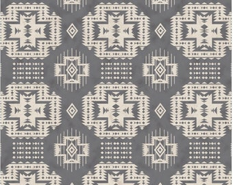 Gray Aztec baby car seat canopy, carseat canopy cover, baby shower gift, baby boy, baby girl
