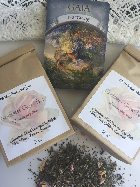 Goddess Glow Herbal Tea  for women