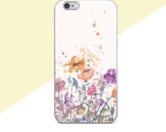 Flower Phone Case, Samsung Galaxy S7 Edge Case, Samsung Galaxy S8 Case, iphone 7 Plus Case Floral, Floral Phone Case, Samsung Galaxy S7 Case