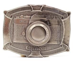 Camera Belt Buckle Canon Camera Vintage Belt Buckle Photographer Gift Vintage Camera Photography Canon F-1 Vintage Canon Thank You 16B