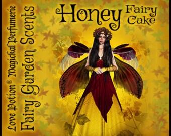 Fairy Cake: Honey - Sweet & Youthful Layerable Perfume - Love Potion Magickal Perfumerie