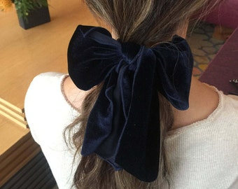 Velvet Ribbon Hair Tie