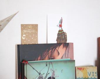 Postcard illustration Bunny card
