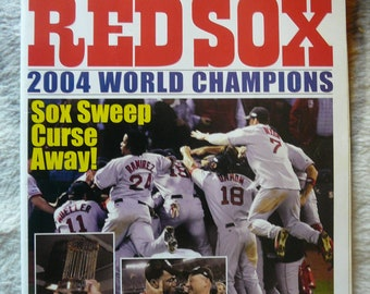 Boston Red Sox 2004 World Champions Magazine - Collectible