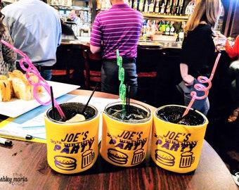 Beer & Burgers Can Insulator