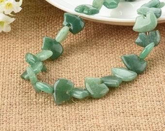 Green Aventurine Zuni Bear Gemstone Beads 18mm
