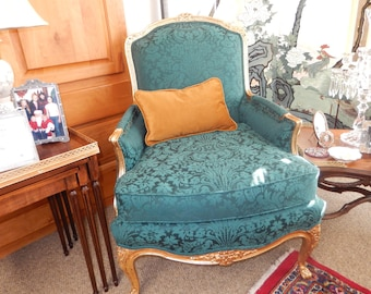 SCALAMANDRE FRENCH CHAIR