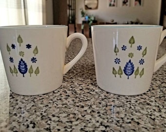Alpine Swiss Chalet Mugs set of 2
