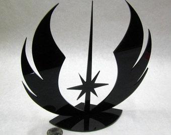 Jedi Shield, 26 Colors, Acrylic, Star Wars inspired, Jedi Academy, Made in USA, acrylic cutout, laser cutout, Jedi, Star Wars, Christmas