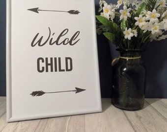Wild Child Print