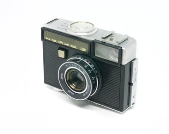 Chaika 3 Soviet LOMO viewfinder half-frame 35mm film camera