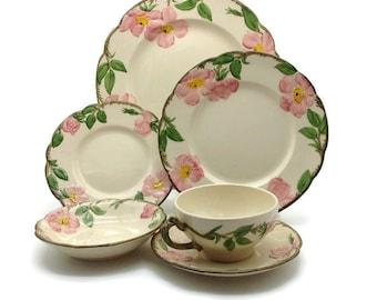 Franciscan Desert Rose Dinnerware Set  sc 1 st  Etsy & Franciscan desert rose | Etsy