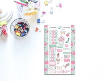 Personal Sized Dear Darling Sticker Sheet for Planners, Penpal and Journalling