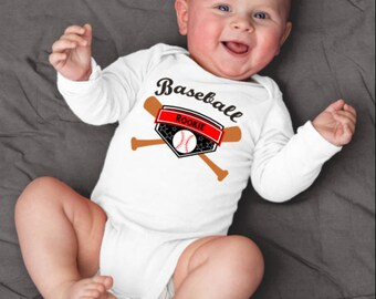 Rookie Onesie©, Baseball Baby Outfit, Baseball Baby Boy, Baseball Baby Girl, Baseball Baby Shower, Baseball Outfit, Baseball Brother,