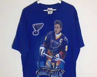 Wayne Gretzky St.Louis Blues 1996 made in USA - XL