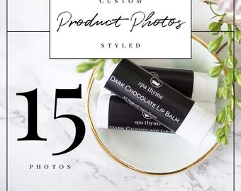 Professional Custom Styled Product Photos for 5 Products (3 each for a total of 15 photos) | Professional Product Photography