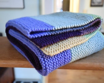 Evie - Striped Baby Blanket