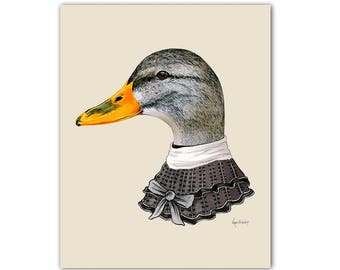 Female Duck print 5x7