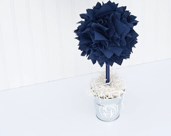 NAVY BLUE CENTERPIECE - Baby shower Centerpiece - Baptism Centerpieces - Centerpiece - Center pieces for table - Bridal shower centerpiece