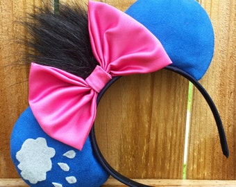 Disney inspired Winnie the Pooh eeyore Minnie Mouse ears