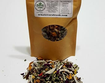 12-PK Loose Botanical Incense Blend (for Smudging) - Renewal and Protection