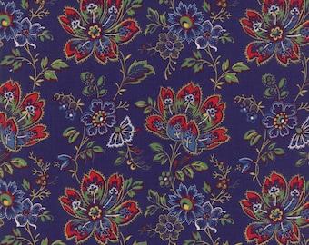 Blue Provencal Fabric - 21730 17 - Moda - American Jane