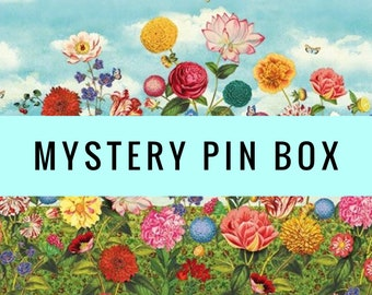 Mystery box, pins, pin, mystery