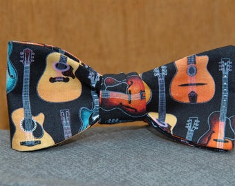 Acoustic and Electric Guitar Mix  Bow tie