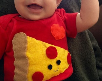 Yummy Pizza Baby Onesie
