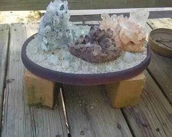 Crystal Zen Garden