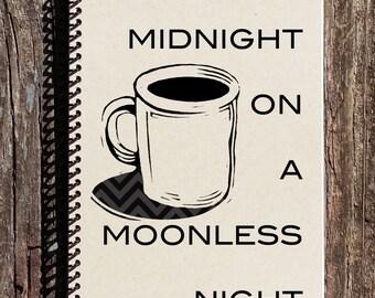 Twin Peaks Inspired Coffee Journal - Twin Peaks Inspired Notebooks - Coffee Notebook