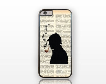 Sherlock Holmes the game is afoot iPhone 6/6s case-Holmes iPhone 6 plus case-Sherlock iPhone case 5/5S-Galaxy S4/S5/S6-by Natura Picta-NP040
