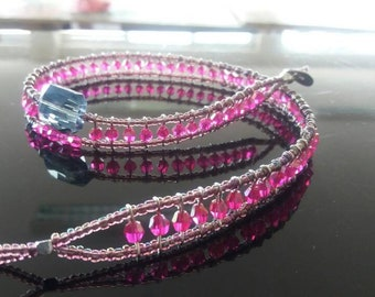 Double round beaded Bracelet