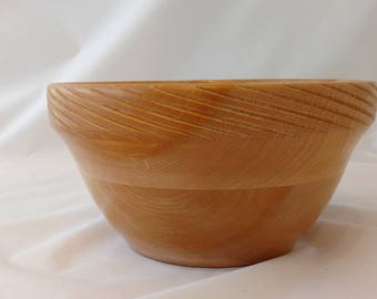 Maple Segmented Bowl With Spiraled Edge #156