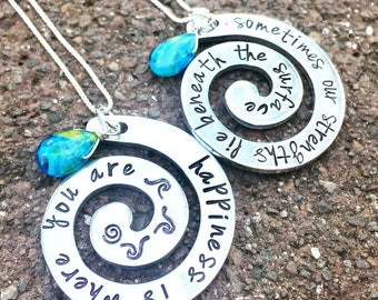 Moana, See the line where the sky meets the sea it calls me, No Telling How Far I'll Go, The Ocean Is A Friend Of Mine, Moana Necklace