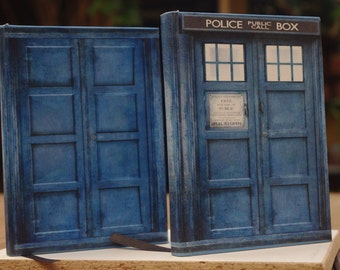 Doctor Who: Agenda Tardis e River Song Agenda Cosplay  [A6 Dimension - Blank Pages]