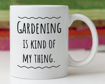 Gardener Mug/Funny Garden Gift/Unique Gardener Gift/Gift for Gardener/Gardener Present/Gardening Gift/Gardening Present/Gardener Cup