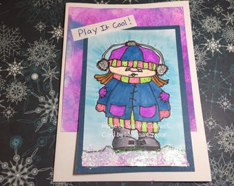 1973 Baby Its Cold Outside Digi Stamp