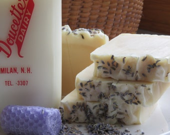 SALE-Goats Milk Lavender Soap, All Natural Soap, Handmade Soap, Bar Soap, Cold process Soap, Homemade Soap, Artisan Soap, New Hampshire Soap