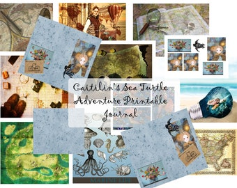 Caitilin's Sea Adventure Journal Printable- link