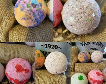 EarthSpirit Bath bomb - variety pack comes with  5 bathbombs
