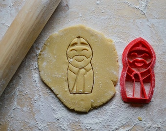 St Nicholas Cookie Cutter, Liturgical Living, Catholic Sugar Cookie