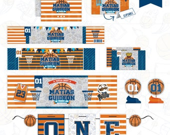 Impirmibles Kit for candy bar BASKETBALL