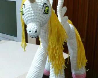 Pattern Unicorn Onchao Amigurumi