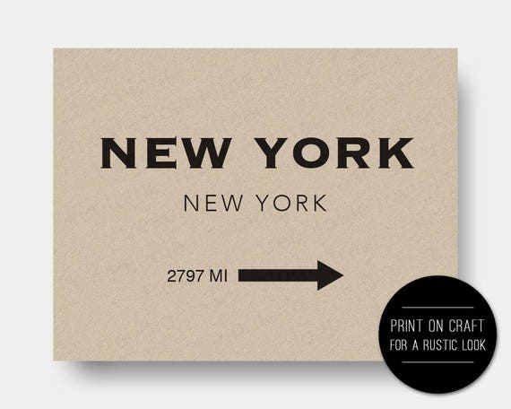 Customizable new york nyc marfa poster printable instant reheart Gallery