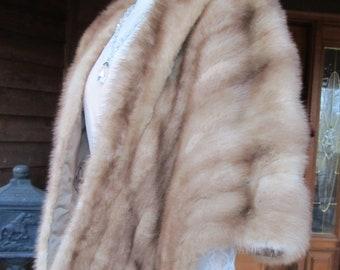 Mink Fur Stole/ shawl