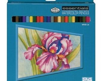 Royal Essentional Watercolor Pencils 24 Pc Set
