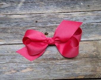 Ruby Medium Bow /Ruby Small Bow