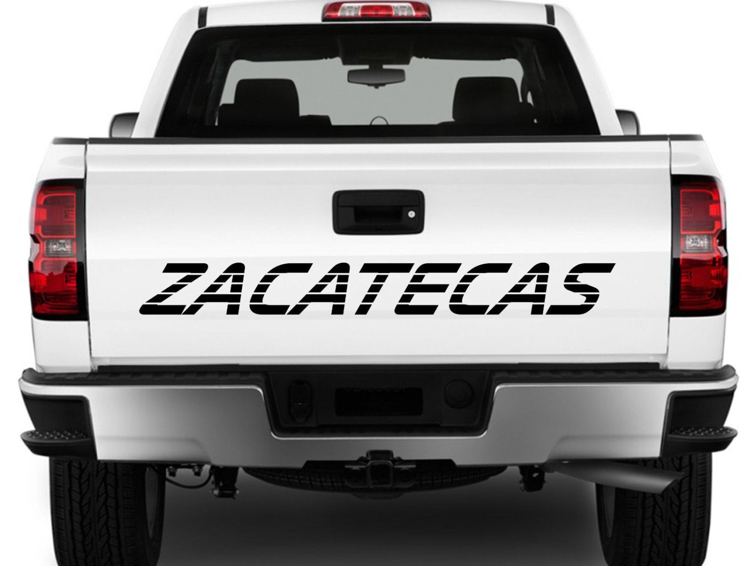 Zacatecas Mexico Truck Decal Sticker Tailgate For Chevy