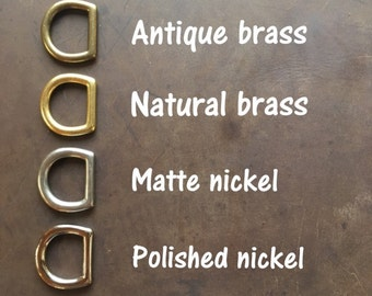 Hardware Options- Antique Brass, Natural Brass, Matte Nickel, Polished Nickel